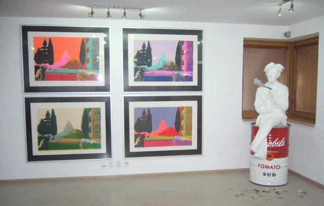 Mihalgallery - socha Andy Warhola