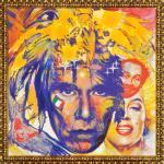 Daniel Brogyányi originály - Gýč 2007 - Portrét Andyho Warhola 1, olej na plátne