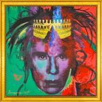 Daniel Brogyányi originály - Gýč 2007 - Portrét Andyho Warhola 2, olej na plátne