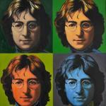 Steve Kaufman originály - John Lennon, olej na plátne