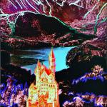 Andy Warhol originály - Neuschwanstein, screenprint HC