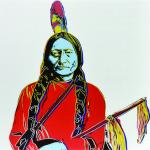 Andy Warhol originály - Sitting Bull, screenprint PP