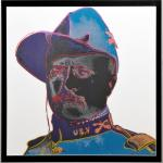 Andy Warhol originály - Teddy Roosevelt, screenprint AP